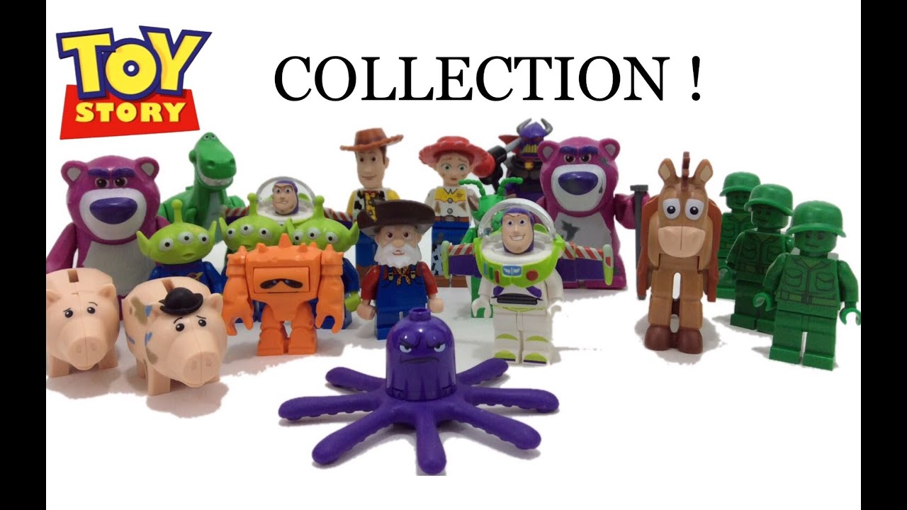 Lego disney pixar toy story minifigure collection youtube - Lego toys story ...