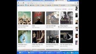 Hướng dẫn tải album nhạc trên mp3 zing