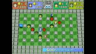 Bomberman Land Nintendo Wii Gameplay - Wii Battle Mode