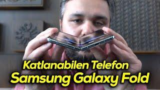 Samsung Galaxy Fold elimizde: Katlanabilen telefonu test ettik