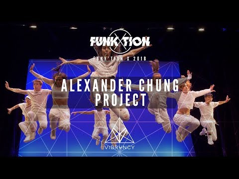 """Alexander Chung Project """"Group""""   Funk'tion X 2018 [@VIBRVNCY Front Row 4K]"""