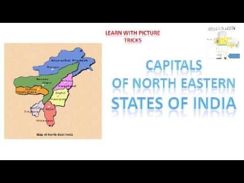 HOW TO REMEMBER CAPITALS OF NORTH-EAST STATES OF INDIA | Easily memorise India North East States And Capitals on north middle states and capitals, northeastern states map with capitals, northeast us map with capitals, northeast usa map with capitals, east region states and capitals, northeastern usa state and capitals, north east united states map, middle east states and capitals,