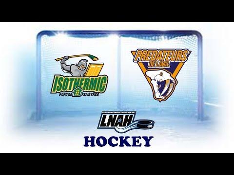 Hockey LNAH - Thetford Mines VS Laval