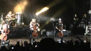 Apocalyptica - Enter Sandman  (Metallica Cover) - Medellin 2012-01-21