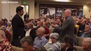 Labrador holds town hall in Nampa