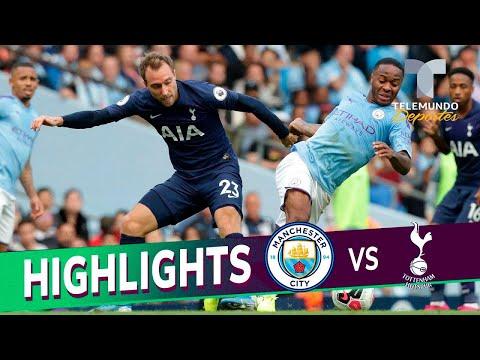 Manchester City vs. Tottenham: 2-2 Goals & Highlights   Premier League   Telemundo Deportes