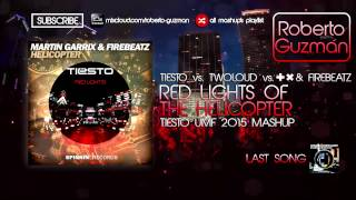 Tiësto &. twoloud vs. Martin Garrix & Firebeatz - Red Lights vs. Helicopter (Tiësto UMF 2015 Mashup)
