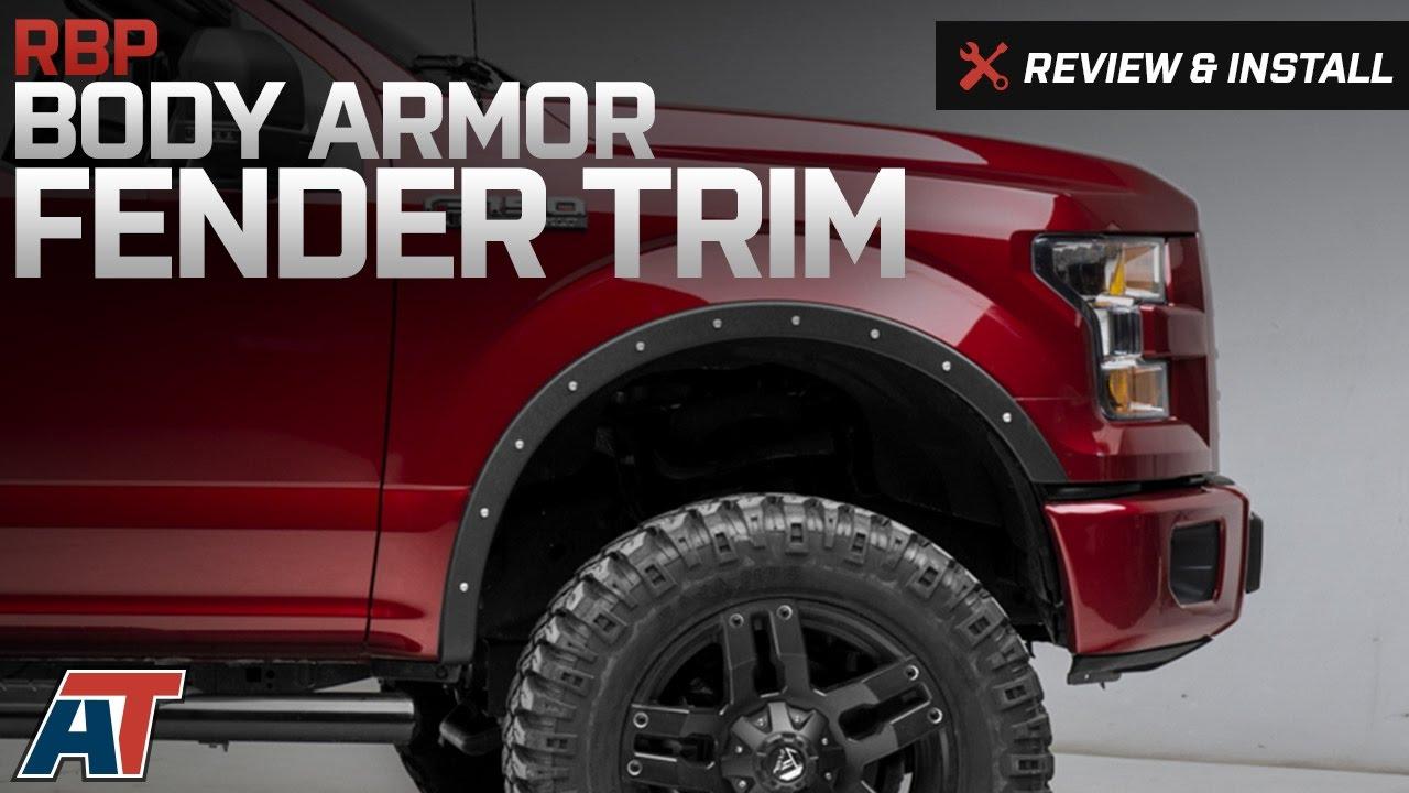 2015 2017 F150 Rbp Body Armor Fender Trim Review Amp Install