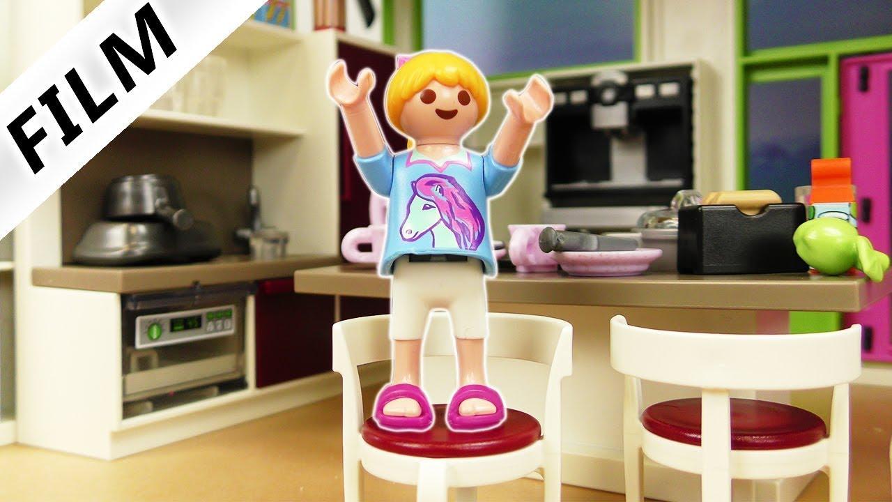 Playmobil Film Deutsch   FAMILIE VOGELS NEUE KÜCHE! HANNAH MÖCHTE DAS  NICHT? Kinderserie