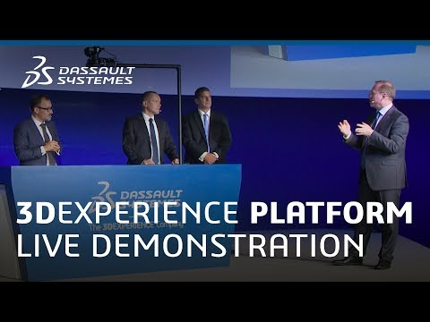 Vision in Action - 3DEXPERIENCE Platform Live Demonstration - Dassault Systèmes