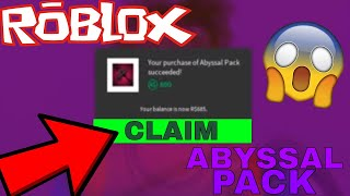 *INSANE* NEW ABYSSAL BUNDLE [TWO NEW KNIVES] (ROBLOX ASSASSINS ABYSSAL BUNDLE)