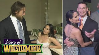 The Bella Twins take you backstage at the WWE Hall of Fame - Diary of WrestleMania