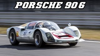 Porsche 906 Carrera 6 - at Zandvoort & Nürburgring 2018 (incl. revving)