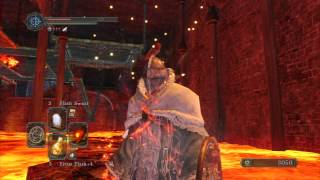Dark Souls 2 - Iron Keep Lava Rock Treasure Chest #2 (Chaos Storm)