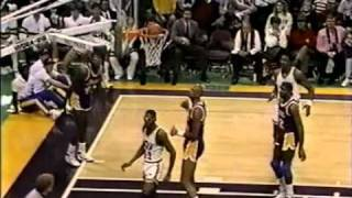 Jazz vs. Lakers Christmas Day 1988
