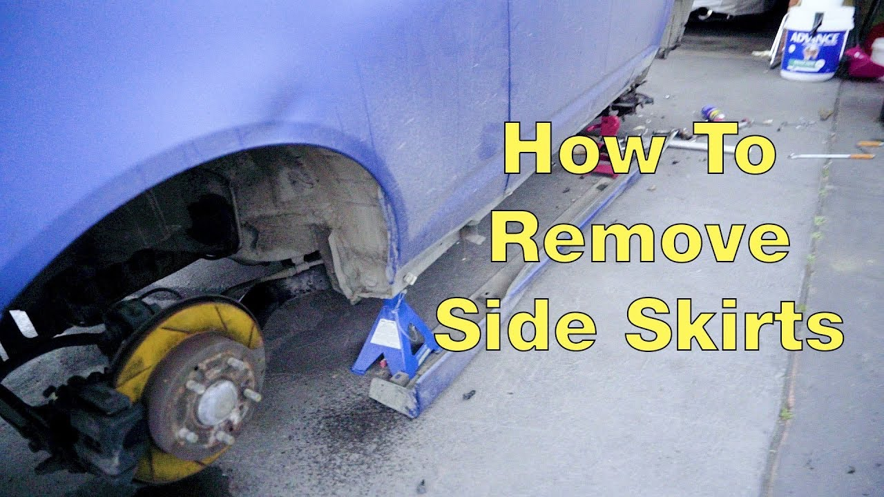 How to remove the sides of the hoop