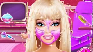 Смотреть видео игры для девочек уход за лицом