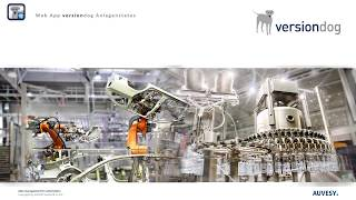 versiondog Anlagenstatus - Ihre Produktionsanlage auf einen Blick