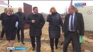 Губернатор Андрей Бочаров проинспектировал готовность детского сада в Дзержинском районе Волгограда