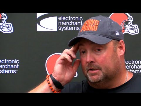 Freddie Kitchens on Greg Joseph and Austin Seibert: 'We're not looking to replace them right now'