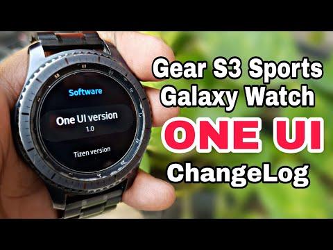 Samsung Gear S3 ONE UI Update 4.0.04 | Gear S3 / Gear Sport / Galaxy Watch Changelog