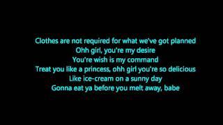 Our First Time- Bruno Mars Lyrics