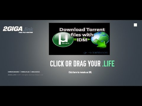 Download Any Torrent with IDM or Save to Cloud Storage (No Registration , No Ads)