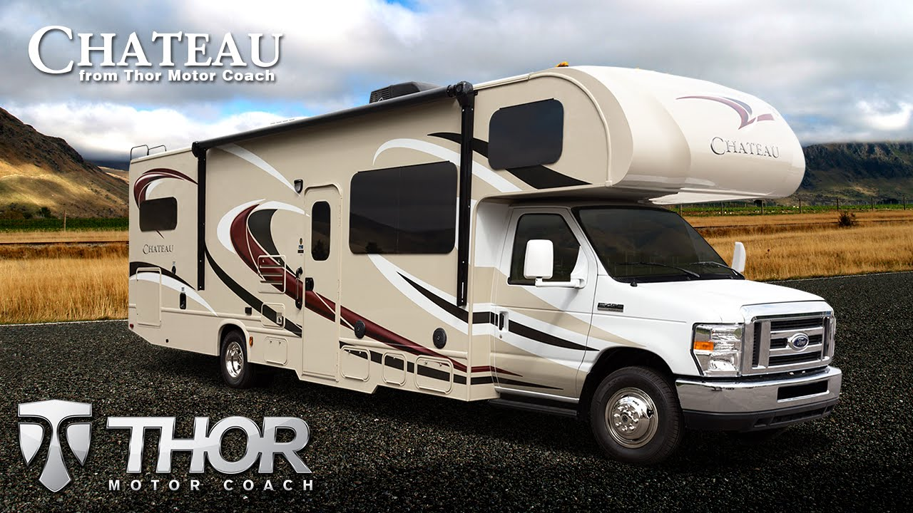 New 2015 Chateau Class C RVs From Thor Motor Coach