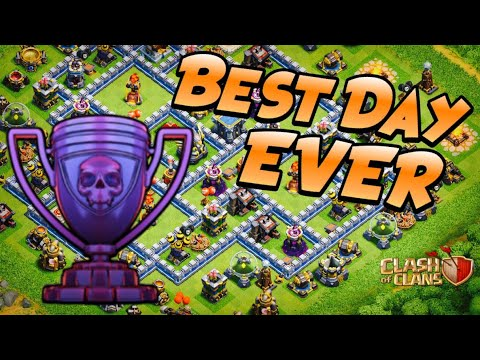 5x THREE STARS In LEGEND LEAGUE!  MY BEST DAY In TH12 Push To Max | Clash Of Clans