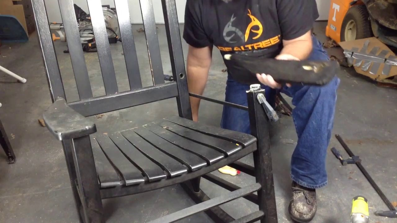 Rocking Chair Repair Youtube