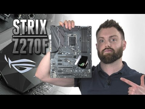 Asus Rog Strix Z270f Gaming Review