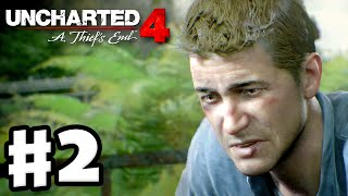 Uncharted 4: A Thief's End - Gameplay Walkthrough Part 2 - Chapter 2: Infernal Place (PS4)