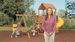 Dual Fastening Swing Hangers For Wooden Playsets