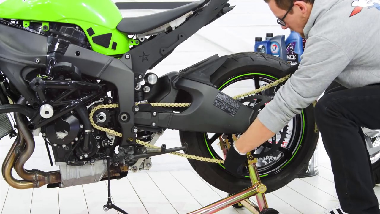 Stunt Sprocket Installation Stunt Bike Zx6r Youtube
