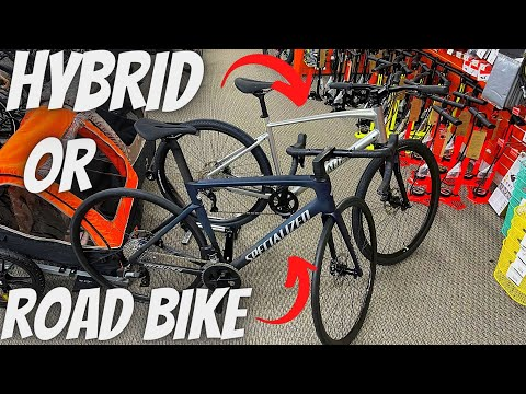 HOW TO CHOOSE BETWEEN A HYBRID BICYCLE AND A ROAD BICYCLE! (DIFFERENCES & GEOMETRIES EXPLAINED) thumbnail