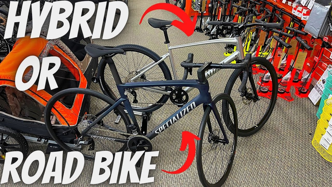 HOW TO CHOOSE BETWEEN A HYBRID BICYCLE AND A ROAD BICYCLE! (DIFFERENCES & GEOMETRIES EXPLAINED)