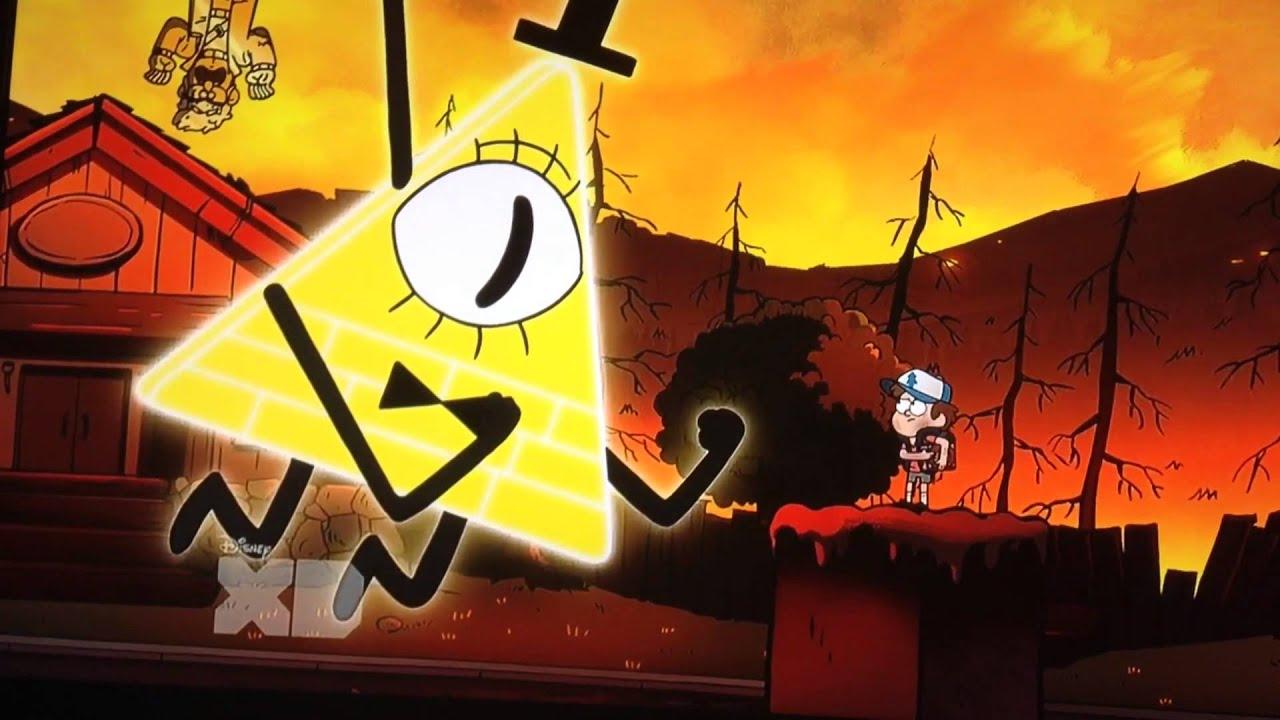 Gravity Falls Wallpaper Bill Dipper Pines Vs Bill Cipher Weirdmageddon Part 1 Episode