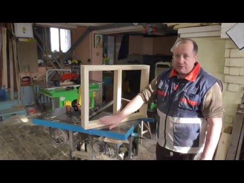 Как сделать окно своими руками из дерева в домашних условиях видео