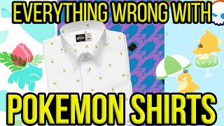 Everything Wrong With Pokemon Shirts