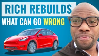 What Can Go Wr๐ng in a Used Tesla   Rich Rebuilds
