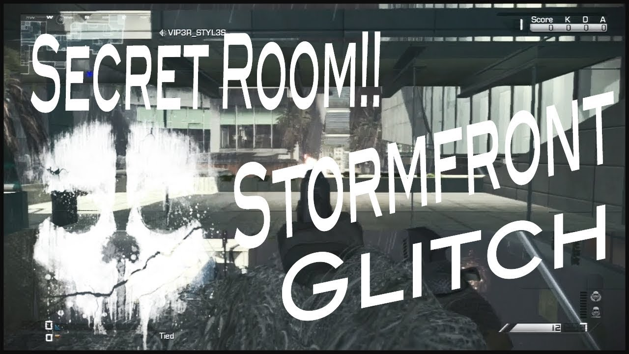 Secret Room Glitch On Map Stormfront Call Of Duty Ghosts Out Of