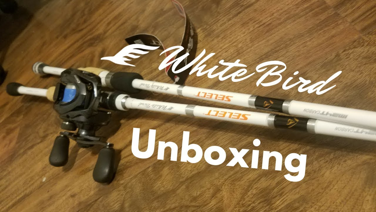Favorite Rods Unboxing And First Impressions White Bird