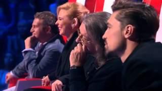 "Голос 3 сезон - Александра Воробьёва ""Chandelier"" (Люстра)"