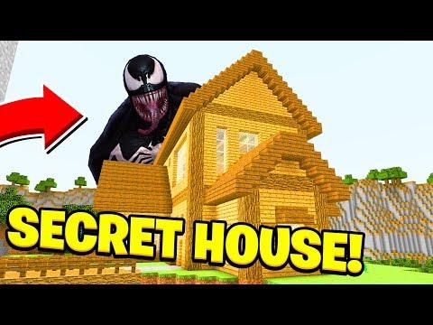 Minecraft : We Found VENOMS SECRET HOUSE! (Ps3/Xbox360/PS4/XboxOne/PE/MCPE)
