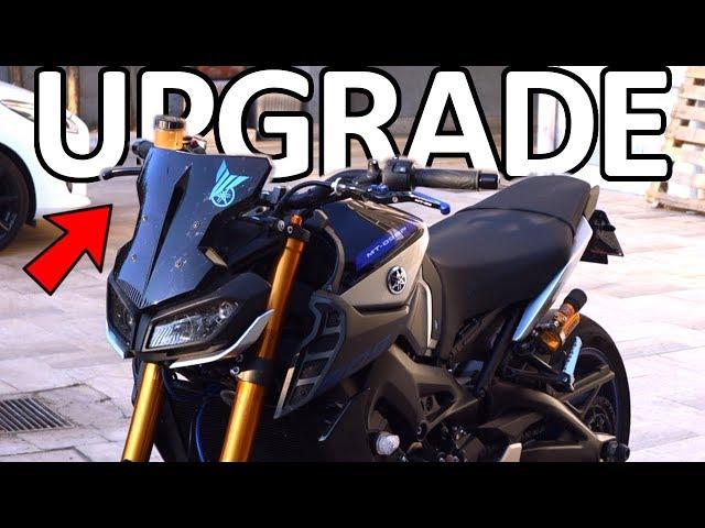MODIFICA IMPORTANTE ALLA MIA MOTO - Yamaha MT09 SP MotoVlog