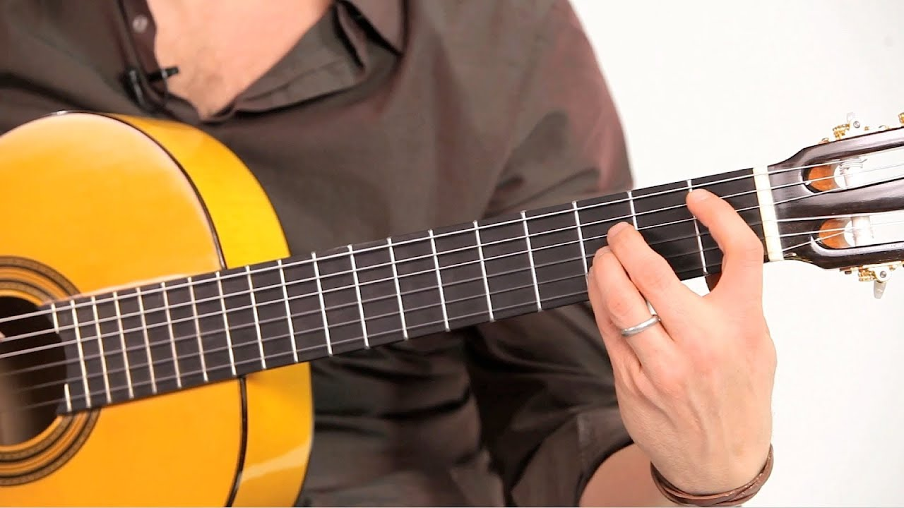 How To Play Flamenco Chords Flamenco Guitar Youtube