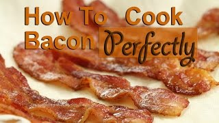 How To Cook Bacon In A Pan Perfectly | Rockin Robin Cooks