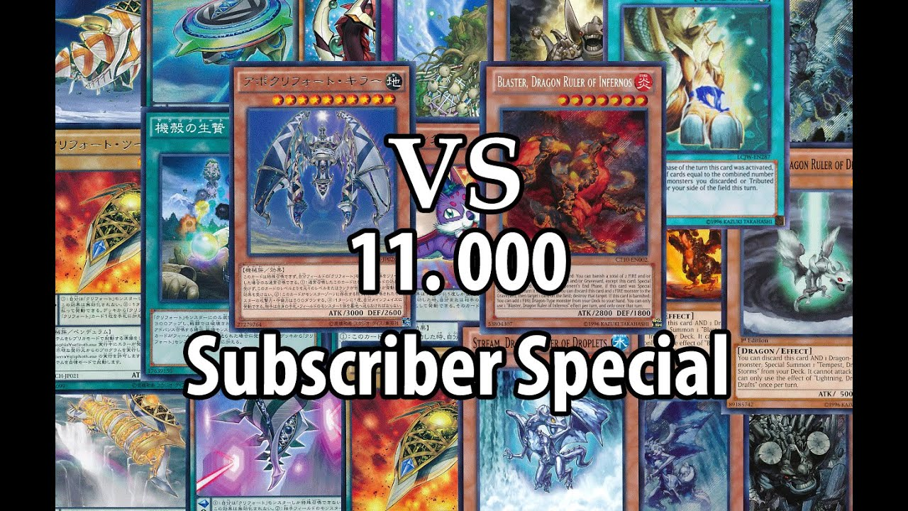 Yugioh! Devpro Duel  11000 Subscriber Special  Qliphoth Vs Dragon  Rulers [cross Banlist]