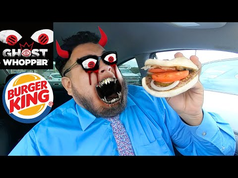 Ghost Whopper from Burger King! #FoodReview