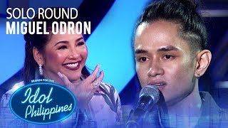 Miguel Odron - Sorry Seems To Be The Hardest Word | Solo Round | Idol Philippines 2019